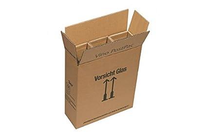 10 x PTZ de envío para 3 botellas con vaina - cartón de vino ...