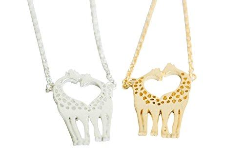 handmade fashion jewelry for girls women teens baby Animal Anime Giraffe chain pendant charm (Anime Giraffe)