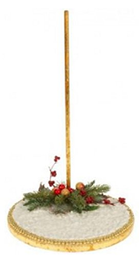 (Mark Roberts Collectible Winter Snow Fairy Display Stand for Small Fairies and Elves 7.5 Inches)