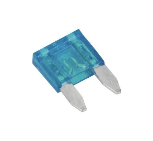 Spare 10X Mini Blade Fuses 15 Amp For Motorbike Motor Cycle AutoPower