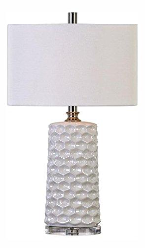 Sesia White Honeycomb Table ()