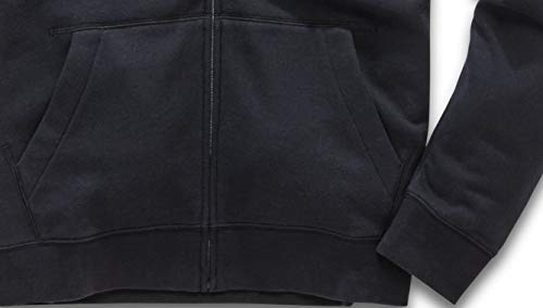 Homme Noir Avec blanc Ii Fleece Moderne Logo Zippé Ageless Alpinestars Coupe Pull Imprimé FwvPxCq