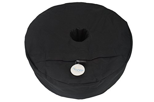 Elfjoy 18'' Round Base Weight Bag Portable Weather Resistant Heavy Duty for Patio Base Sunshade Umbrella Holder (1 Pc Weight Bag) by by Elfjoy