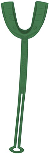 Adams Adult Mouthpiece - 100 Pack (Kelly Green) by Adams