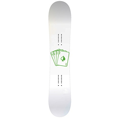 Playing Cards Aces Snowboard Sticker All Weather 6