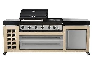 Geräte Für Außenküche : Luxius außenküche gartenküche nr barbecue groß amazon