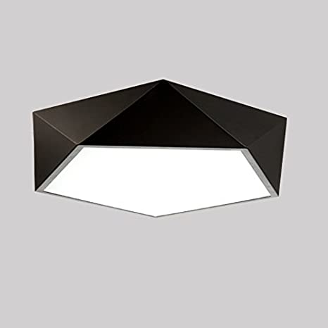 LightInTheBox Square Led Ceiling Light Bedroom Ceiling Lamps Modern Acrylic  Brief Flush Mount Chandelier Lighting Fixture for Dining Room Black Color,  ...