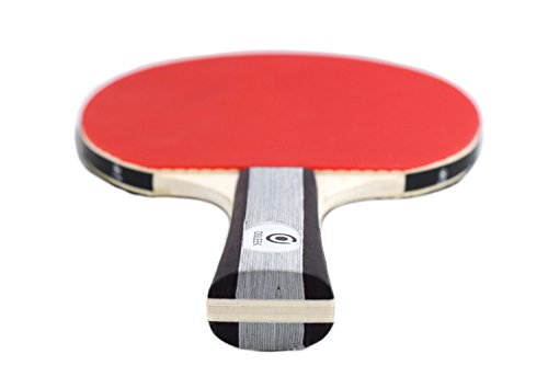 Osleek Ping Pong Paddle Set - 4 Rackets 8 Balls Professional/Recreational Table Tennis Bundle | Durable 5 Layer Blade, Performance Rubber for Control, Spin & Speed | Packed in Protective Travel Case by Osleek (Image #8)
