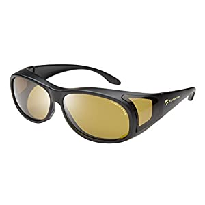 Eagle Eyes FitOns Polarized Sunglasses - Black Small