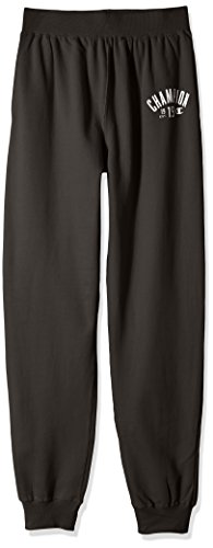 - Champion Men's Big and Tall Jogger Soft Fleece Pants, grey scarf, 2X