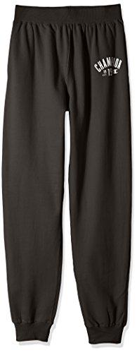 - Champion Men's Big and Tall Jogger Soft Fleece Pants, grey scarf, 2X