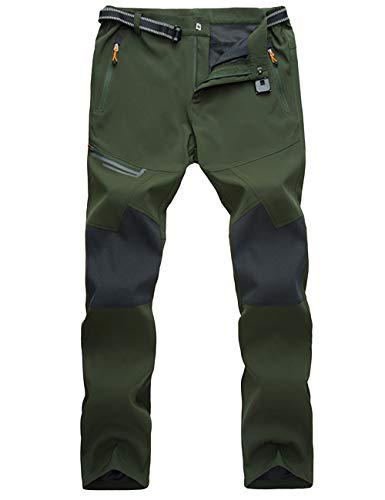 MAGCOMSEN Hiking Pants Mens Summer Hiking Pants Cargo Pants Lightweight Mens Travel Pants Spring Pants Zipper Pockets Hiking Pants for Men (Best Winter Backpacking Pants)