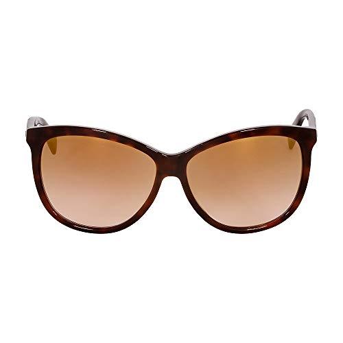 Diesel Plastic Frame Brown Lens Ladies Sunglasses DL02215952G