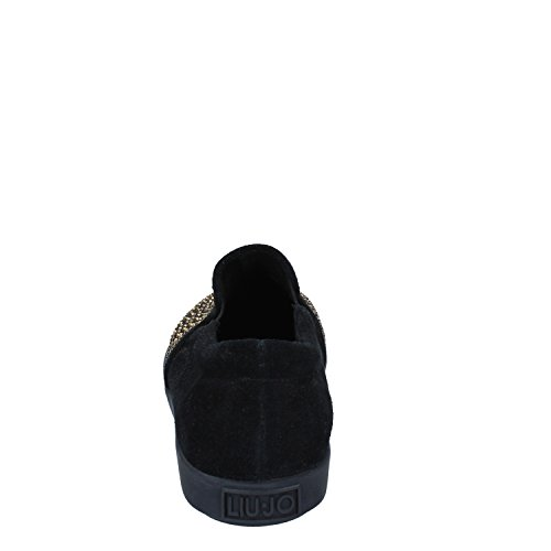 Liu 41 Black on Slip Jo Suede Womens EU TRqPTrxUwI