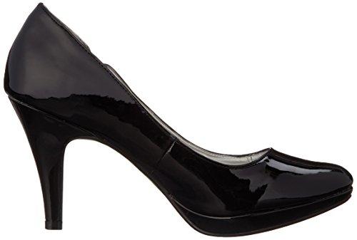 Andrew Geller Womens Garey Dress Pump Black Patent