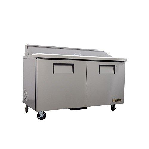 Ada 2 Door Sandwich - True 2-Door 16-Pan 15.5 Cu Ft S/S Sandwich & Salad Unit