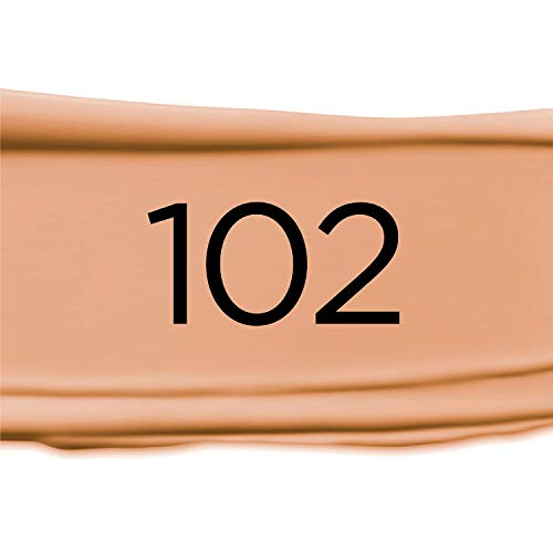 L'Oréal Paris Infallible Pro-Matte Liquid Longwear Foundation Makeup, 102 Shell Beige, 1 fl. oz.