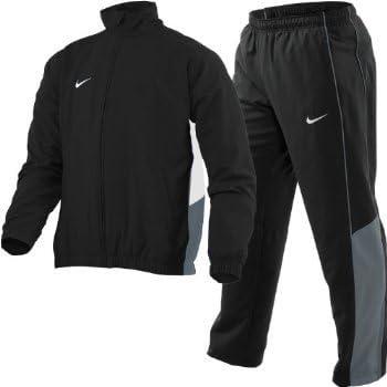 Nike Herren Präsentationsanzug, Herren, schwarzgrau, L
