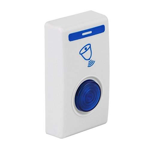 [해외]Shemiqi LED Wireless Chime Door Bell Doorbell & Wireles Remote Control 32 Tune Songs (White & Blue) / Shemiqi LED Wireless Chime Door Bell Doorbell & Wireles Remote Control 32 Tune Songs (White & Blue)