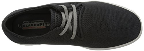 Skechers DefineVolkan - zapatilla deportiva de material sintético hombre negro - negro