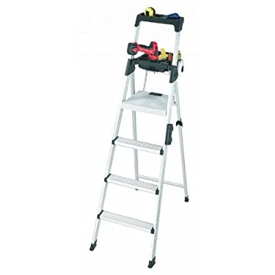 Cosco 20-61AABL Signature Series Premium Aluminum Type T1A Step Ladder, 6-Foot