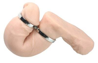 Master Series The Twisted Penis Chastity Cock Ring by Master Series