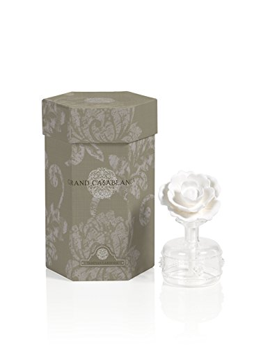 Zodax Mini Grand Casablanca Porcelain Diffuser, Tahitian Gardenia ()