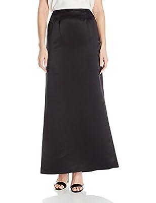 Alex Evenings Women's Long Satin Fishtail Occasion Skirt