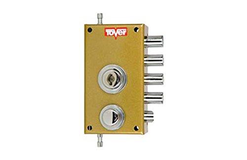Cerradura 900 sobreponer con varillas derecha Tover M107005