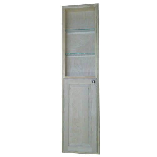 Wg Wood Products Recessed Manhattan Pantry Storage Cabinet
