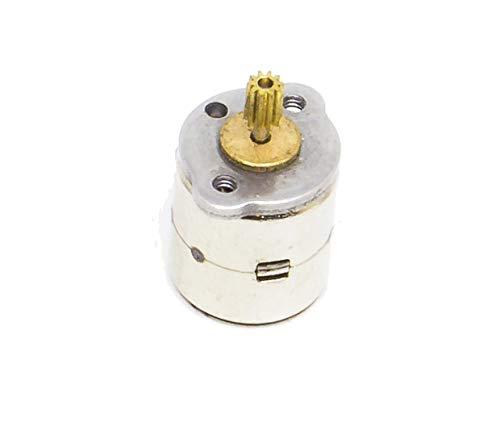 DC 5/V 2/fase 4/Wire 15/mm Dia Micro Mini Stepper Motor Metal Copper Gear For Arduino Raspberry Pi Prototipazione