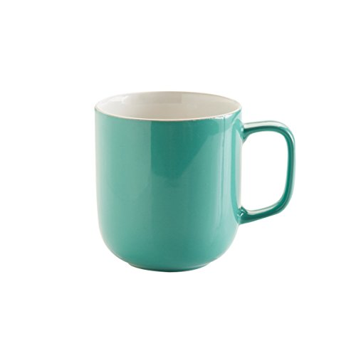 Price & Kensington Jade Green Mug, 14-Ounce