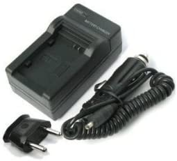 EU Plug and Car adapter EPG Battery Charger for Kodak KLIC-7004 Compatibel With US Flip