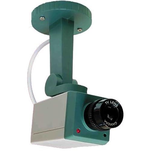 安い!センサー内蔵でカメラが動く XM 防犯用ダミーカメラ「MDAM-CA」