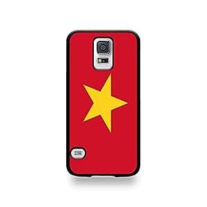 Coqsgs5_196 LD carcasa de la carcasa protectora para el Samsung Galaxy S5, Bandera de Vietnam