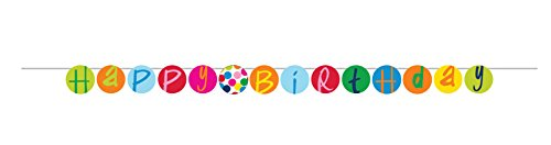 French Bull Birthday Dots- Party Banner -