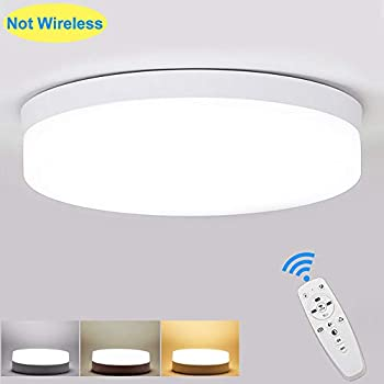 Koda Motion-Activated LED Ceiling Light with Remote ...