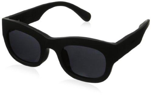 grafik:plastic Sean Wayfarer Sunglasses,Black & Grey,51 mm by grafik:plastic