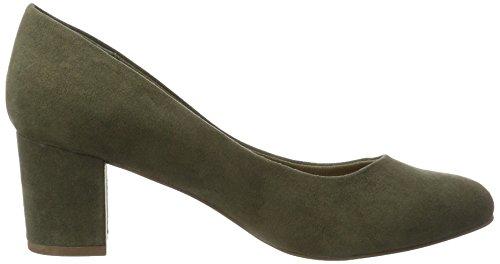 Bianco Pumps Mit Blockabsatz - Tacones Mujer Grün (Army Green)