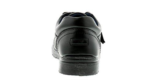 Suela Escuela Correas Individual Diario Cierre Ideal Zapatos Superior Vamp Barra Contraste De Flatflexi Forro Y Mocc Acolchado Para Unidad Hombre Pu Gancho Cuello Tira Hgq4nYn