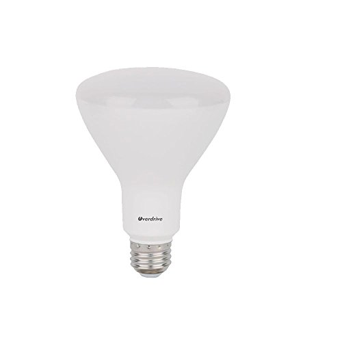 Overdrive 649 L8r30dim 30K  12 Pack  8W Led Bulb Is Equivalent To 65W Incandescent Br30 Light  Avg  Rated Life 25 000 Hours  Piece