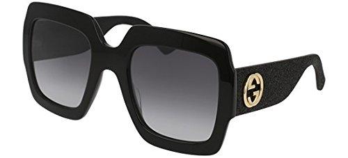 Sunglasses Gucci GG 0102 S- 001 BLACK / GREY