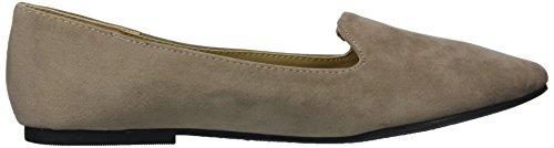 Für immer Frauen Diana-81 Ballett Loafer-Flats Schuhe Taupe