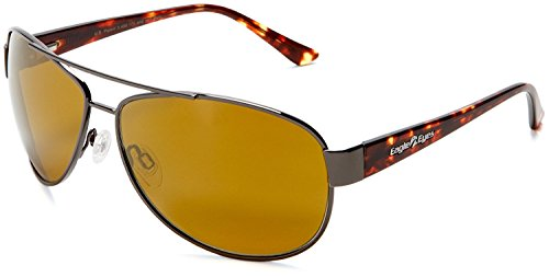 Eagle Eyes Magellan Aviator Sunglasses - Tortoise Frame Polarized - Most Popular Sunglasses Aviator
