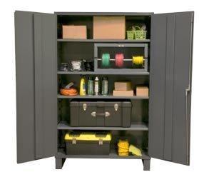 Durham - 2505-4S-95 - Storage Cabinet, 16 ga., 78 In. H, 48 In. W by Durham