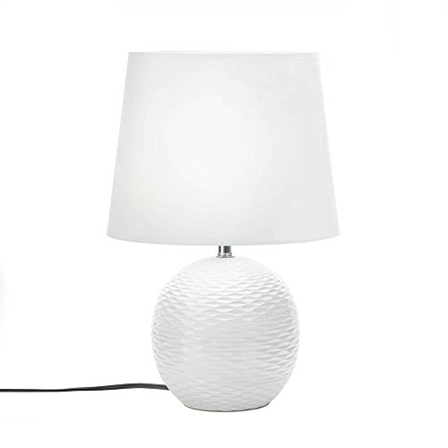 Small Ceramic Table Lamp (Table Lamps, Small White Contemporary Table Lamps Bedside For Office Light)