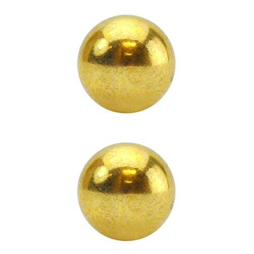 Bolas para Pompoarismo Douradas, Nanma, Dourado