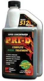 PRI-D Fuel Stabilizer- For Diesel 32oz, Outdoor Stuffs