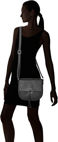 Gerry Weber Flash Over Shoulderbag Mhf - Bolsos bandolera Mujer Negro (Black)