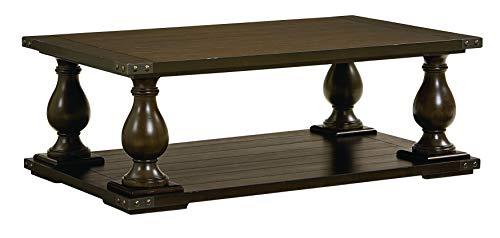 Standard Furniture 29251 Pierwood Coffee Table, 54